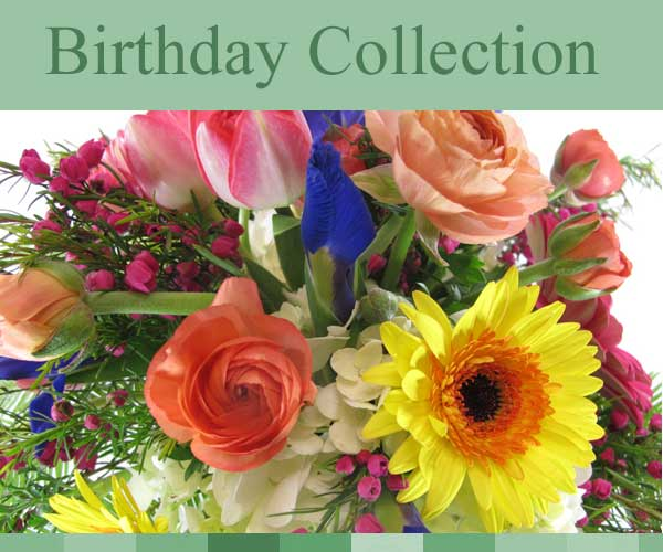 Birthday Flower Arrangements